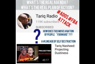 """#ADOS #FBA Yvette Carnell, Tone Talks, and Tariq Nasheed  """"HOT GRITS FLYING EVERYWHERE"""" #Reparations"""