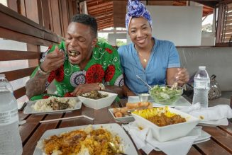 African Street Food: Liberian Fever Leaf and Torborgee