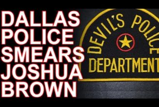 """Dallas Police's """"Drug"""" Story About Joshua Brown Is Ridiculous!"""
