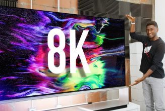 Dope Tech: The World's Largest 8K OLED!