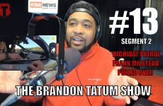 Highway Patrol Frank Milstead pulled over for speeding | The Brandon Tatum Show