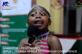 The PLO Lumumba Africa Mentorship Conference Documentary~PART A