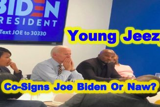 Young Jeezy And Joe Biden. Co Sign Or Not? Let's Talk About It