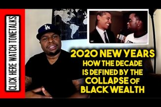 New Years 2020 How the Decade is Defined by the Collapse of Black Wealth – Diddy to Obama