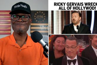 Ricky Gervais WRECKS All Of Hollywood At The Golden Globes!