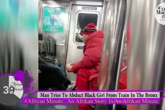 WOW! Man Tries To Abduct Black Girl From Train In The Bronx! Are Black Women Disappearing in US?