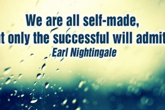 All of Us Are Self Made But Only The Successful Will Admit It! | Dr. Rick Wallace