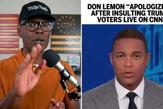 "Don Lemon Gives ""Apology"" After Insulting Trump Voters On CNN!"