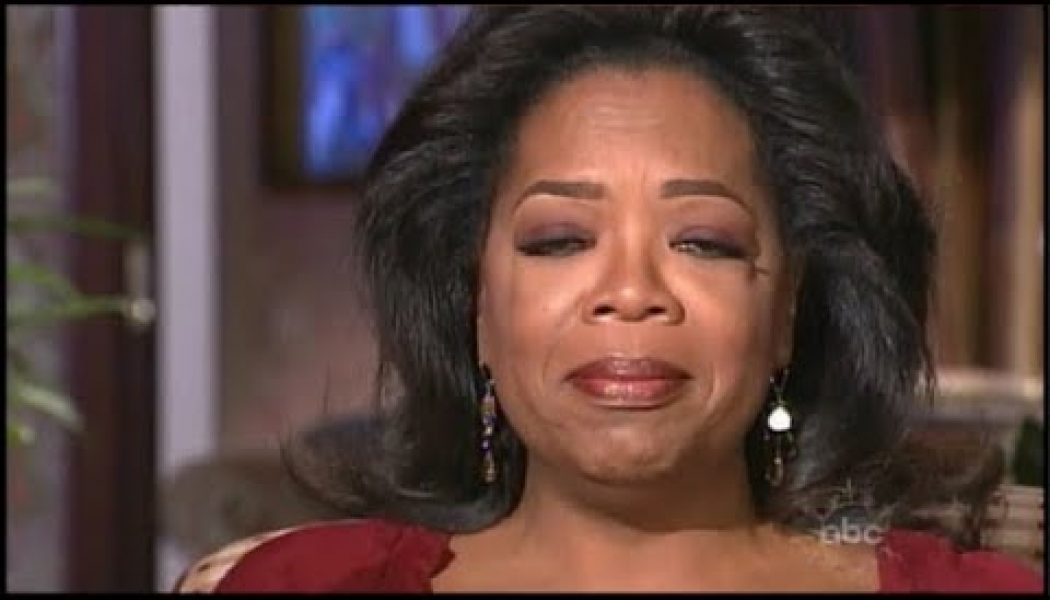 Gayle is getting death threats and Oprah is crying about it. W/Mechee X