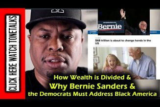 How Wealth is Divided & Why Bernie Sanders & the Democrats Must Address Black America
