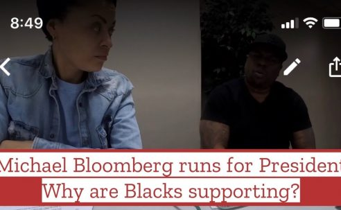Michael Bloomberg runs for President – Why is Black America supporting his campaign?