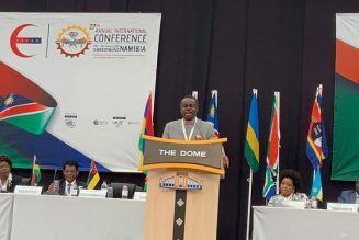 PROF. PLO LUMUMBA Speech on PFM reforms & economic growth of Africa at ESAAG Conference in Namibia