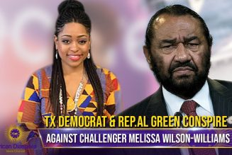 Sell Out Rep.Al Green & Texas Democrats Conspire To Sabotage Challenger Melissa Wilson-Williams