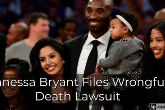 Vanessa Bryant Files Wrongful Death Lawsuit