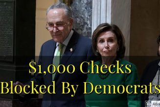 $1,000 Checks Blocked By Democrats In Stimulus Bill