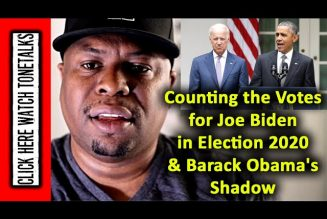 Counting the Votes for Joe Biden in Election 2020& Barack Obama's Shadow