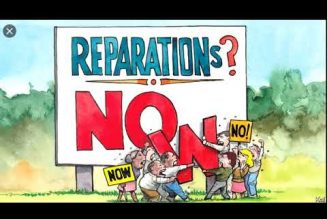 FEDERAL GOV'T HAS PROVEN TO HAVE ENOUGH MONEY FOR REPARATIONS