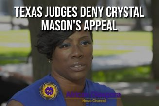 Texas Judges Deny Crystal Mason's Appeal After Being Sentenced 5 Years For Voting Illegaly