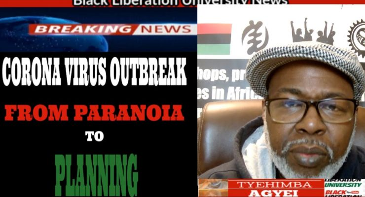 Where is BLACK LEADERSHIP during this Virus Outbreak?