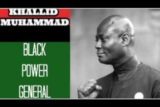 WHO WAS KHALID MUHAMMAD?