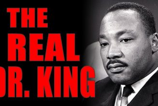 1-21-2019 The True Dr King