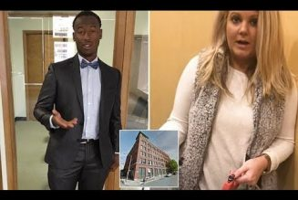 Bl@ck Man DEFENDS Wh!te Woman Who BLOCKED Him From Entering into His Luxury Loft