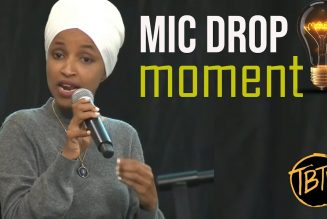 BREAKING: ILHAN OMAR'S LATEST MIC DROP MOMENT