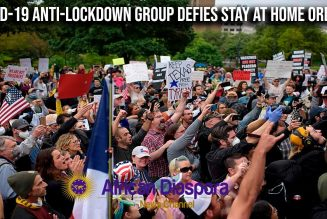 COVID-19 Anti-Lockdown Group Wants The Country Opened Up Despite Not Having Control On Virus