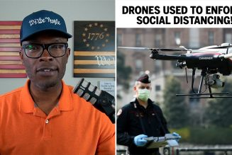 "DRONES Used To ENFORCE ""Social Distancing"" in New Jersey!"