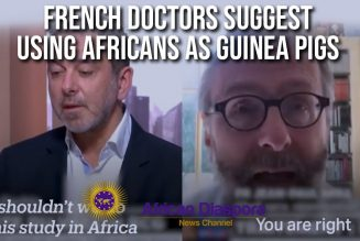 French Doctors Want To Use Africans As Guinea Pigs To Save The West