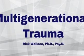 Generational Trauma and Reinjury in Blacks in America | Dr. Rick Wallace