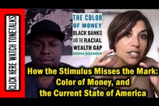 How the Stimulus Misses the Mark: Color of Money, and the Current State of America