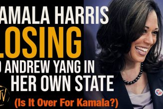 Kamala Harris Trailing Andrew Yang, IS IT OVER? | Tim Black