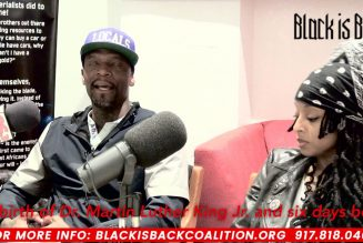 """M1 of Dead Prez: """" 1000's of black people to confronting white power"""""""