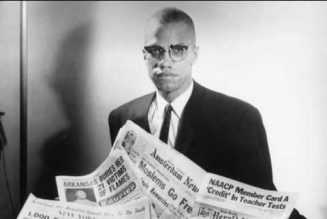 Malcolm X on Black Entertainers Being Seen As Leaders