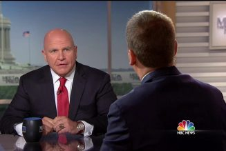McMaster: 'Of Course' Charlottesville was Domestic Terrorism