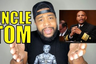 NOW Surgeon General JEROME ADAMS is an UNCLE TOM