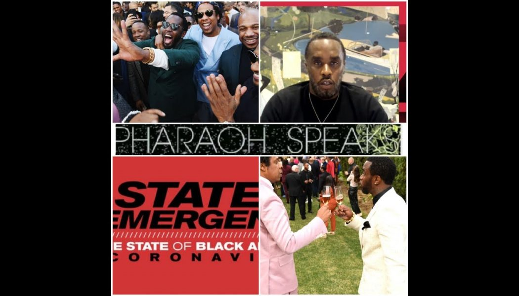 PDIDDY JANKY STATE OF EMERGENCY BLACK COMMUNITY COVID 19, END OF BLACK CELEBRITY?