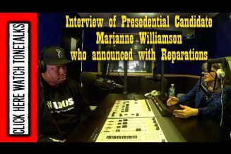 Presidential Candidate Marianne Williamson Speaks on Reparations, Black America and #ADOS