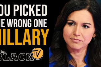 Tulsi Gabbard Calls Out Hillary Clinton On Twitter | The Full Guide | Tim Black