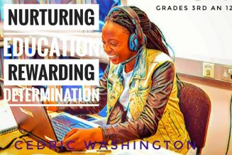 Virtual Online Schooling N.E.R.D Youth Services Inc. Executive Director Brother Cedric Washington