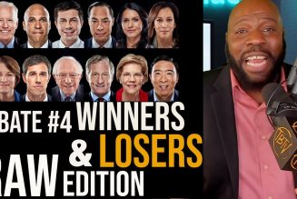 Who Were The Winners and Losers of Democratic Debate #4? | Tim Black