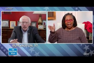 Whoopie Goldberg To Bernie Sanderss On The View: Get The F*** Out The Race!