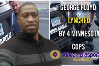 4 Minneapolis Cops Fired After Lynching Subdued George Floyd
