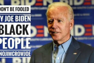 Biden Says 'You Ain't BLACK' If You Support Trump Over Him Here's The Truth