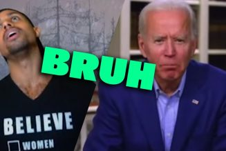 Biden says YOU AINT BLACK