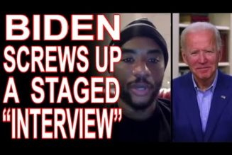 "Charlamagne's Phony ""Interview"" Gave Biden A Pass But We Won't!"
