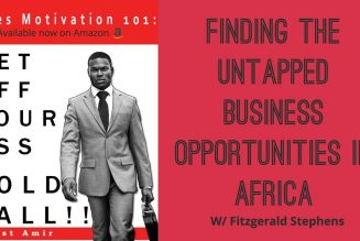 Finding The Untapped Opportunities In Africa w/ Fitzgerald Stephens