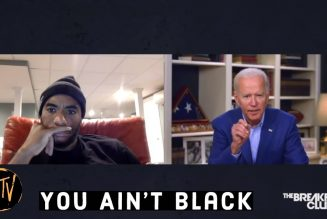 "Joe Biden New Slogan: ""Vote for me or you ain't Black!"" #FreedomFriday 319-527-6212"