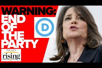 Marianne Williamson endorses against Dem leadership, warns of 'end to Democratic party'